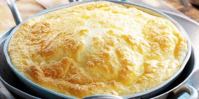 Recette insolite d'omelette au four