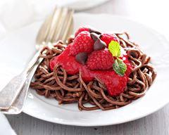 Recette insolite de spaghetti au chocolat
