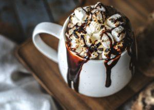 Chocolat chaud gourmand pour se faire plaisir