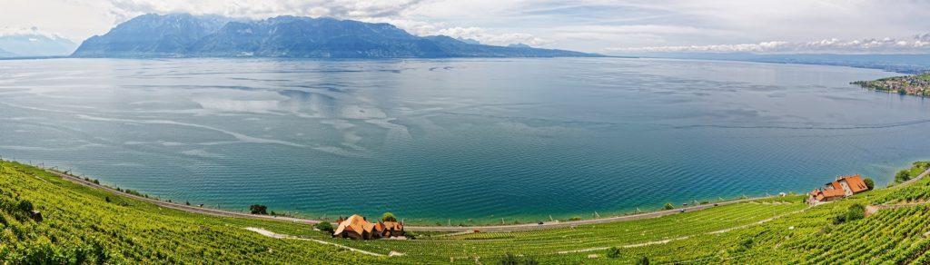 Paysage d'un lieu incontournable en Suisse