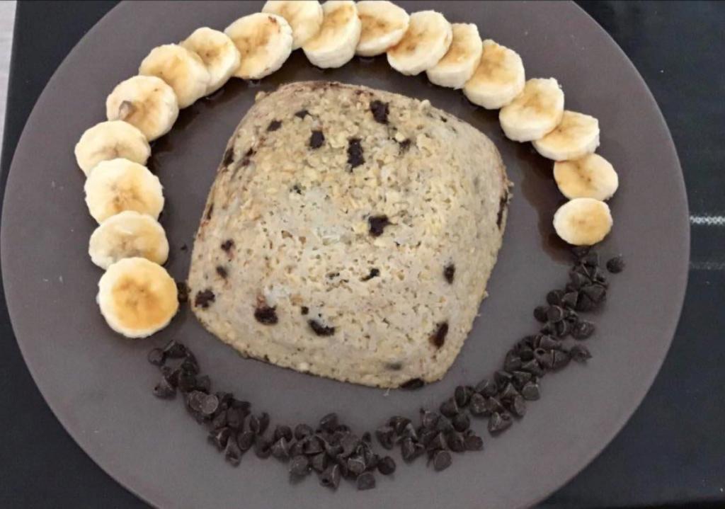 Bowl cake banane chocolat rapide