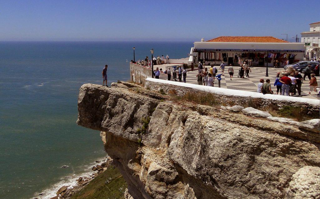 Falaises de Nazaré Portugal