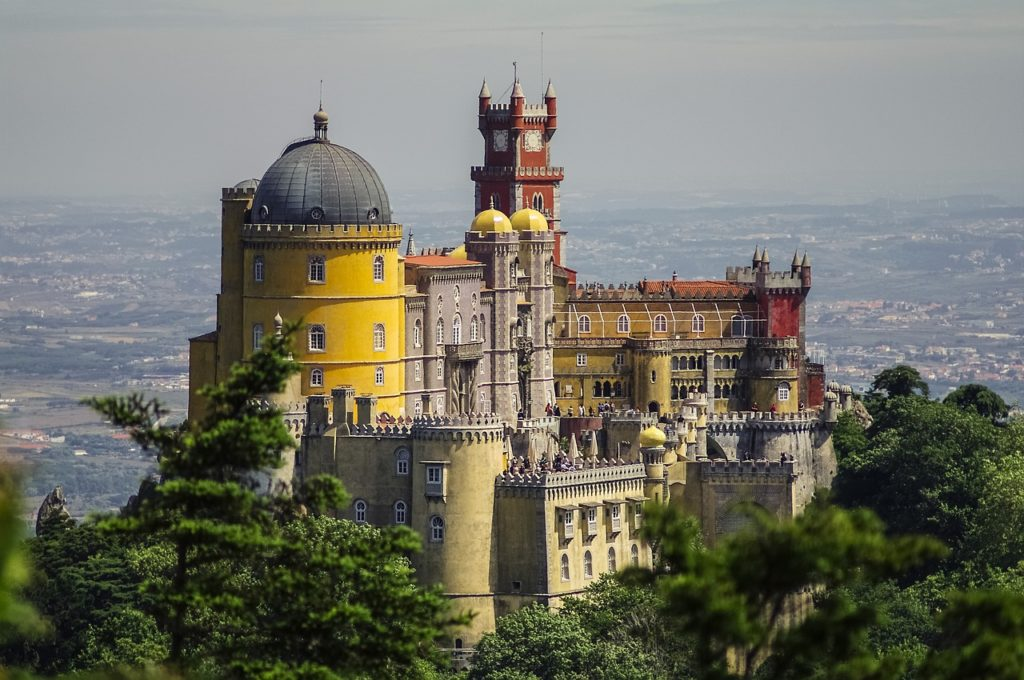 Palais de Pena Sintra Portugal