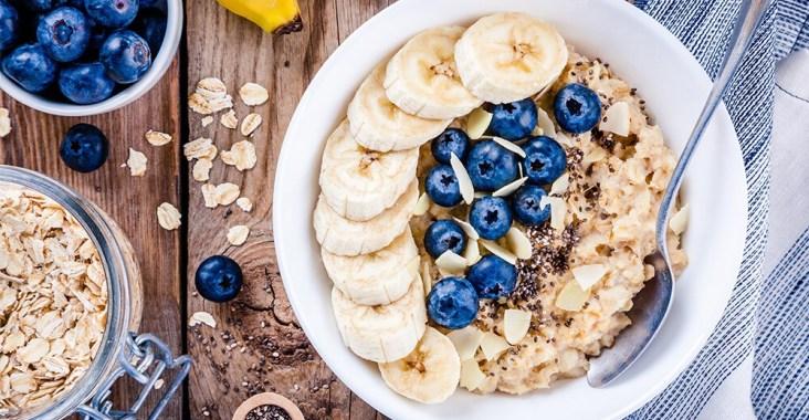 Petit déjeuner porridge