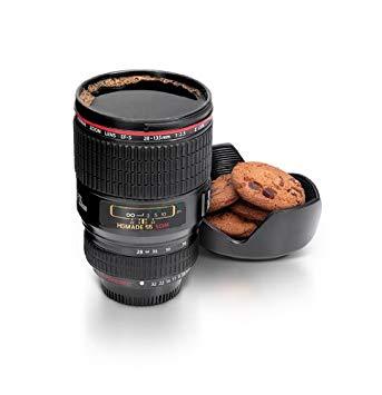 Cadeau mug objectif d'appareil photo