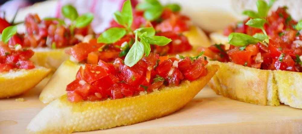 burschetta à la tomate