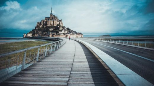 Mont Saint Michel en France