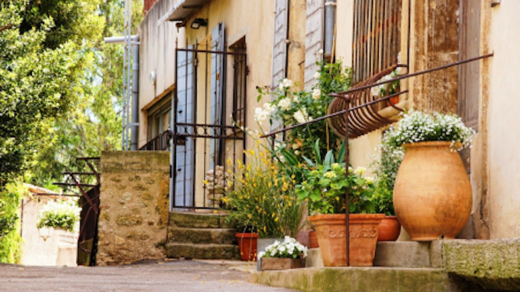 photo d'un mas provençal