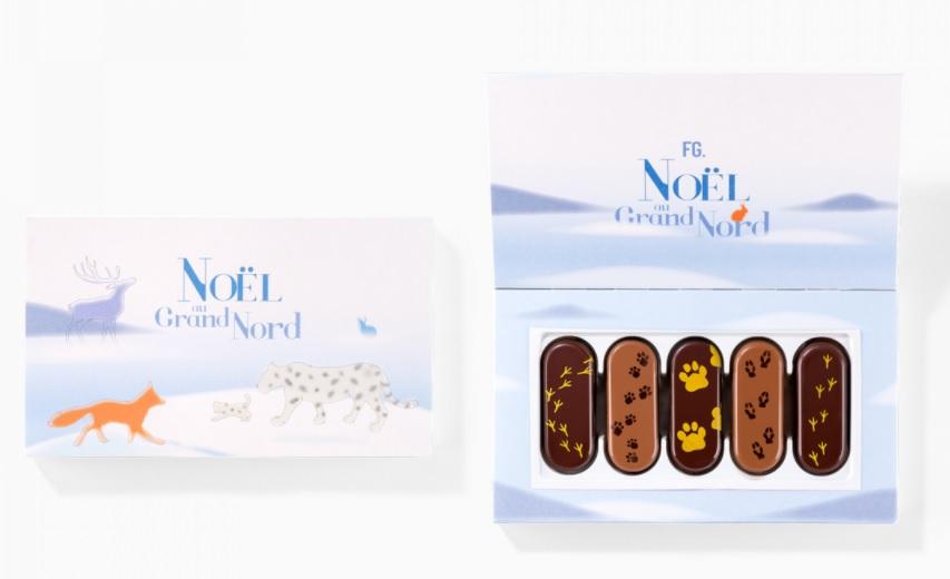 langues de chat en chocolat